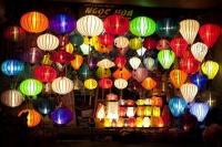 Đèn lồng ở phố cổ Hội An