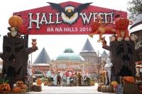 Khám phá lễ hội Halloween huyền bí 2016 tại Bà Nà hills
